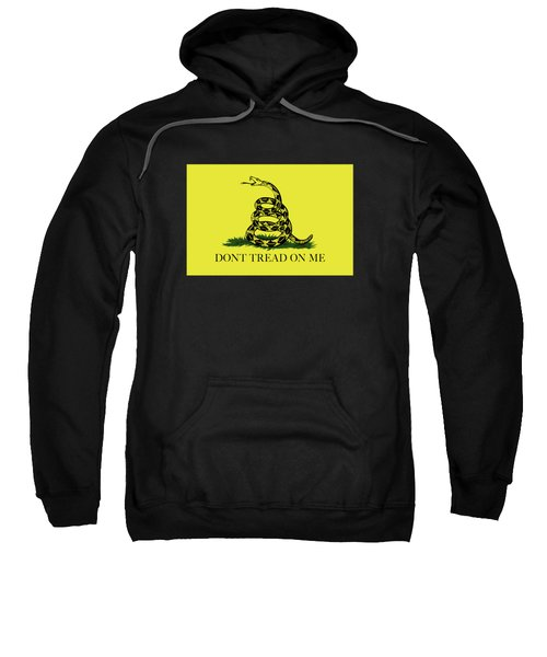 Gadsden Dont Tread On Me Flag Authentic Version Sweatshirt by Bruce Stanfield