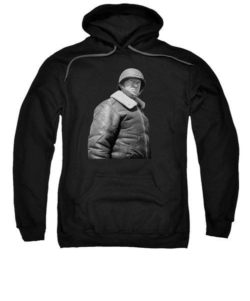 General George S. Patton Sweatshirt by War Is Hell Store