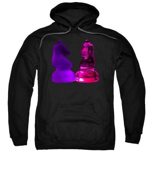 Glowing Glass Knights Sweatshirt by Shane Bechler