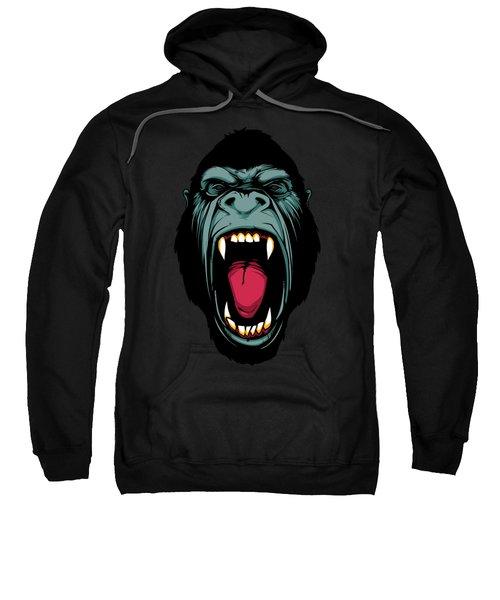 Gorilla Face Sweatshirt by John D'Amelio