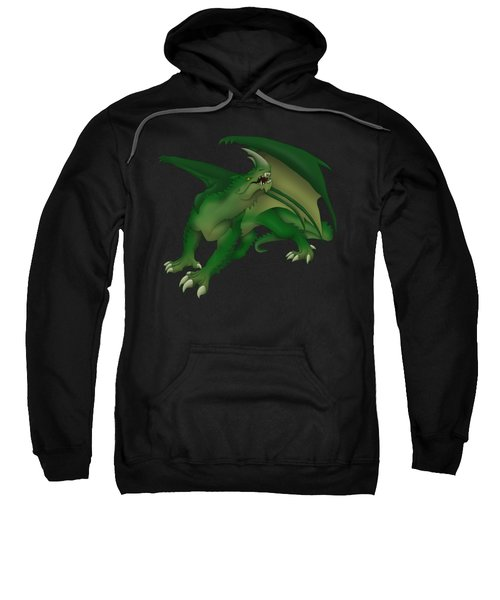 Green Dragon Sweatshirt by Gaynore Craps
