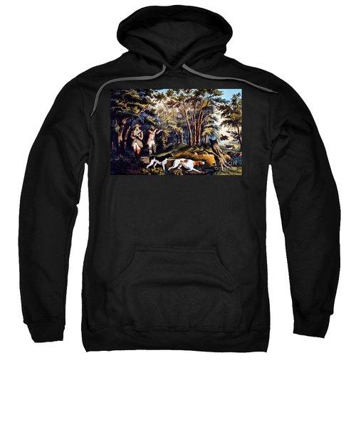 Hunting: Woodcock, 1852 Sweatshirt by Granger