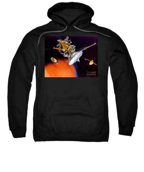 Huygens Probe Separating Sweatshirt by NASA and Photo Researchers