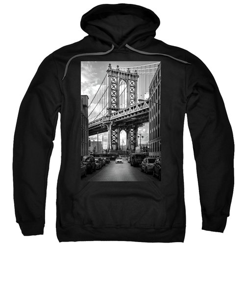 Iconic Manhattan Bw Sweatshirt by Az Jackson