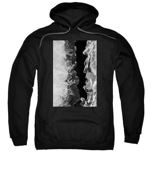 Icy Waves Sweatshirt by Konstantin Sevostyanov