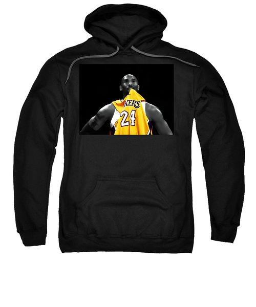 Kobe Bryant 04c Sweatshirt by Brian Reaves