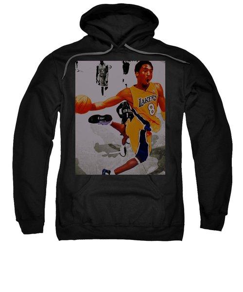 Kobe Bryant Taking Flight 3a Sweatshirt by Brian Reaves