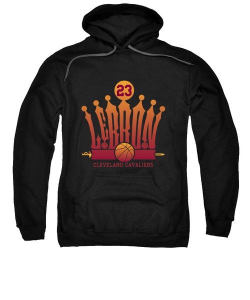 Lebroncrown Sweatshirt by Augen Baratbate
