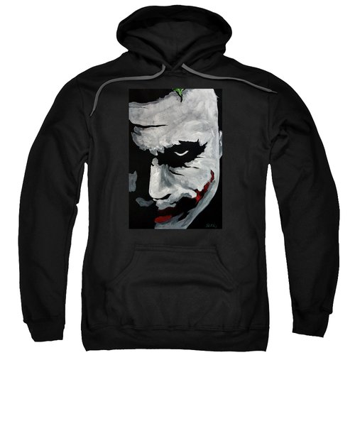 Ledger's Joker Sweatshirt by Dale Loos Jr