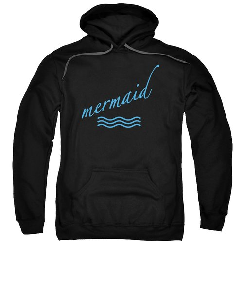 Mermaid Sweatshirt by Bill Owen
