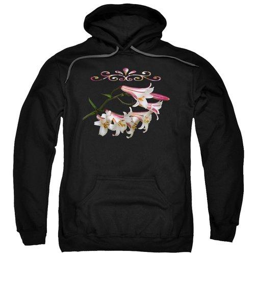 Midnight Radiance Sweatshirt by Gill Billington