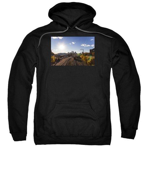 Minneapolis In The Fall Sweatshirt by Zach Sumners