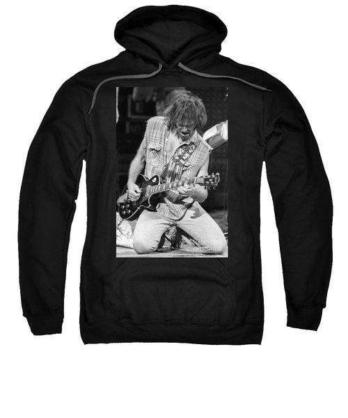 Neil Young Sweatshirt by David Plastik