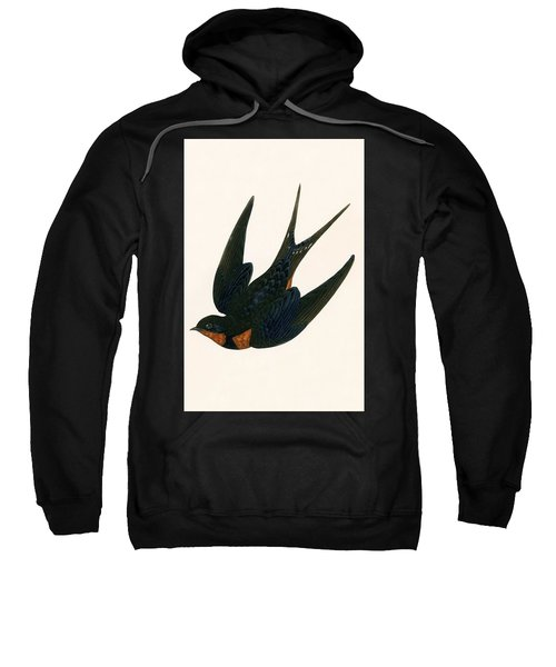 Oriental Chimney Swallow Sweatshirt by English School