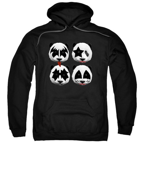 Panda Kiss  Sweatshirt by Mark Ashkenazi
