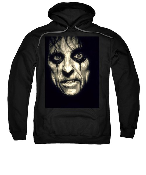 Poison Alice Cooper Sweatshirt by Fred Larucci