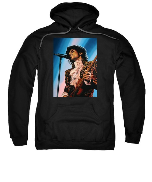 Prince Painting Sweatshirt by Paul Meijering