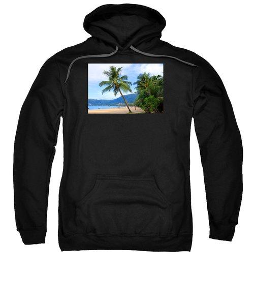 Phuket Patong Beach Sweatshirt by Mark Ashkenazi
