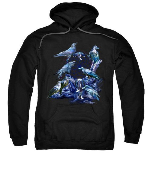 Raven Dreams Sweatshirt by Carol Cavalaris