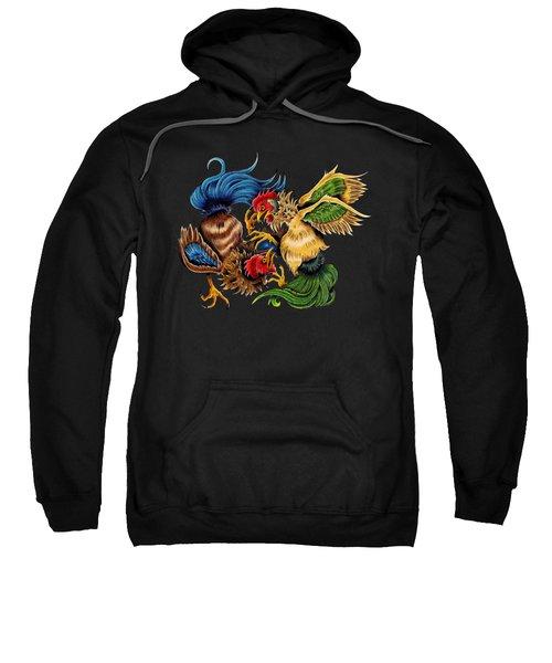 Rawkin' Cawks Sweatshirt by Vicki Von Doom