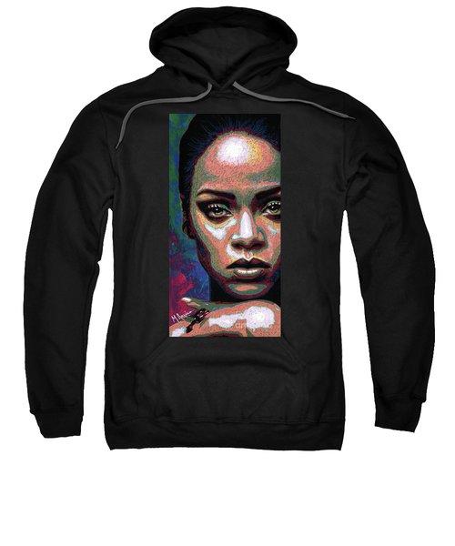 Rihanna Sweatshirt by Maria Arango