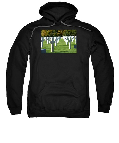 Sweatshirt featuring the photograph Saint Mihiel American Cemetery by Travel Pics