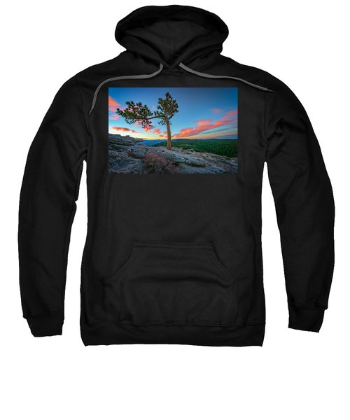 Sentinel Dawn Sweatshirt by Rick Berk
