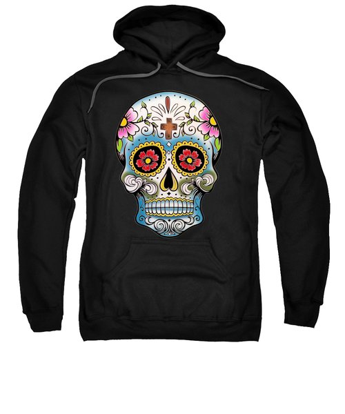 Skull 10 Sweatshirt by Mark Ashkenazi
