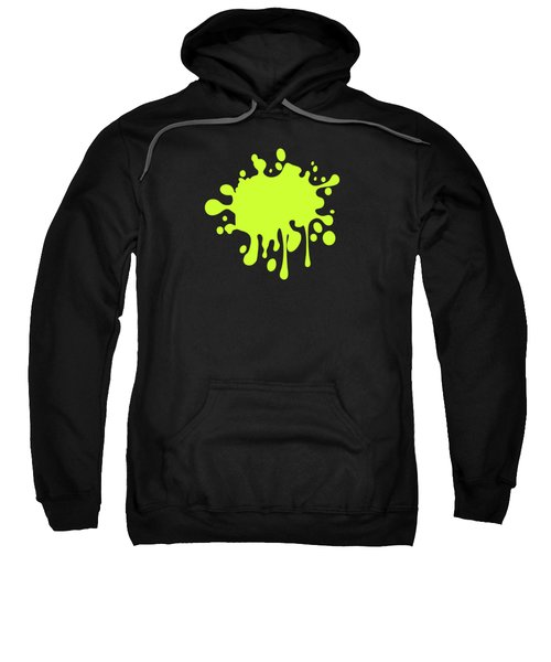 Solid Electric Lime Color Sweatshirt by Garaga Designs