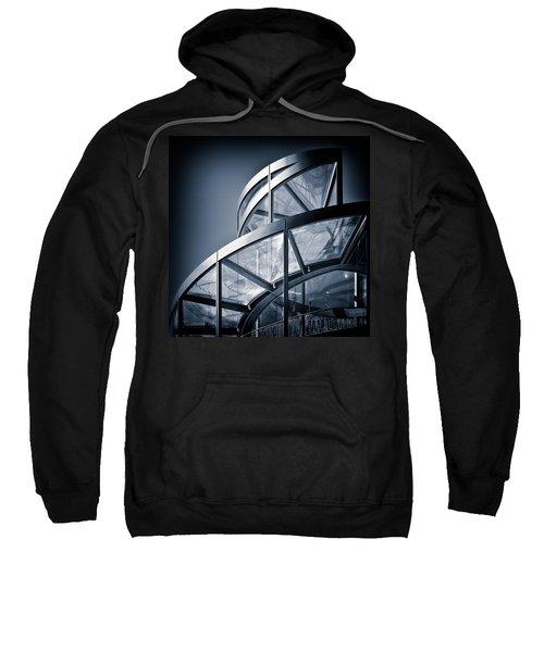 Spiral Staircase Sweatshirt by Dave Bowman