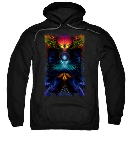 Stargatez Symmetrical Abstract Sweatshirt by Sharon and Renee Lozen