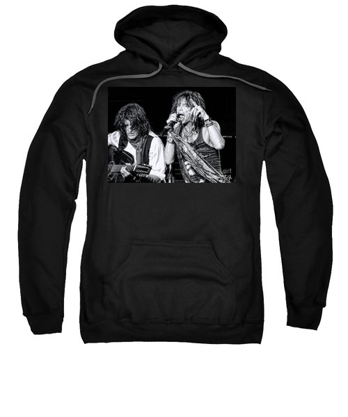 Steven Tyler Croons Sweatshirt by Traci Cottingham