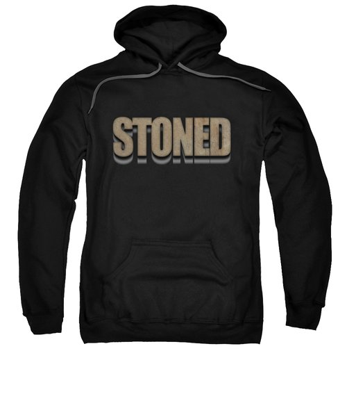 Stoned Tee Sweatshirt by Edward Fielding