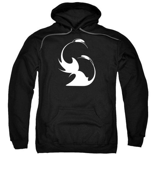 Swan Fidelity Sweatshirt by Tatiana Chernyavskaya