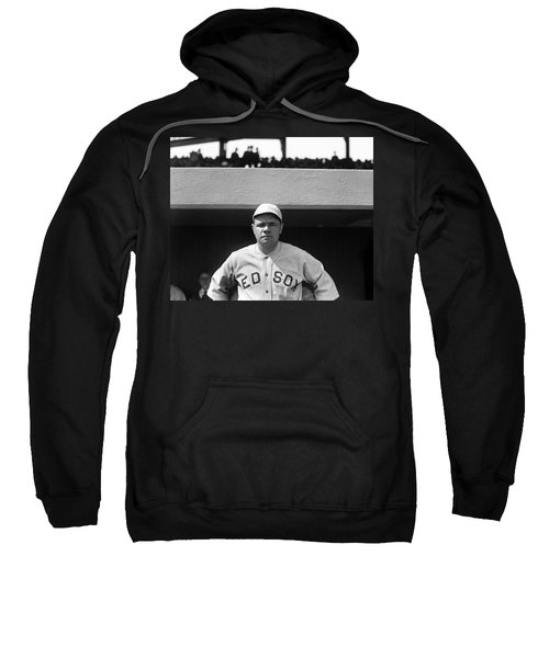 The Babe - Red Sox Sweatshirt by International  Images