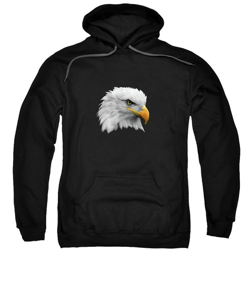The Bald Eagle Sweatshirt by Mark Rogan