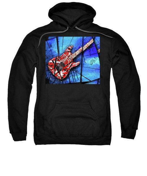 The Frankenstrat Vii Cropped Sweatshirt by Gary Bodnar