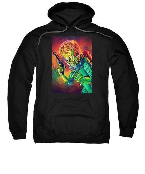 The Martian - Mars Attacks Sweatshirt by Taylan Apukovska