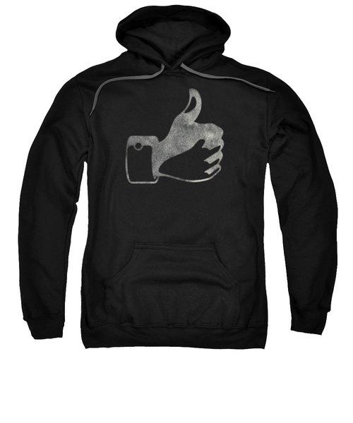 Thumbs Up Tee Sweatshirt by Edward Fielding