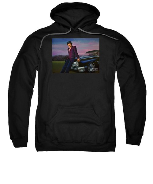 Tom Waits Sweatshirt by Paul Meijering