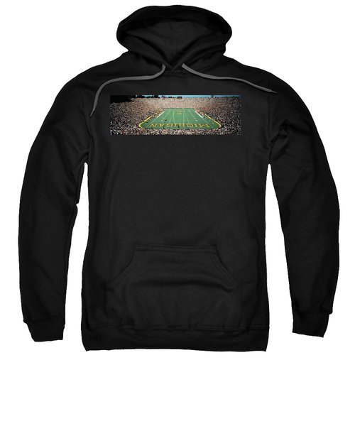 University Of Michigan Stadium, Ann Sweatshirt by Panoramic Images