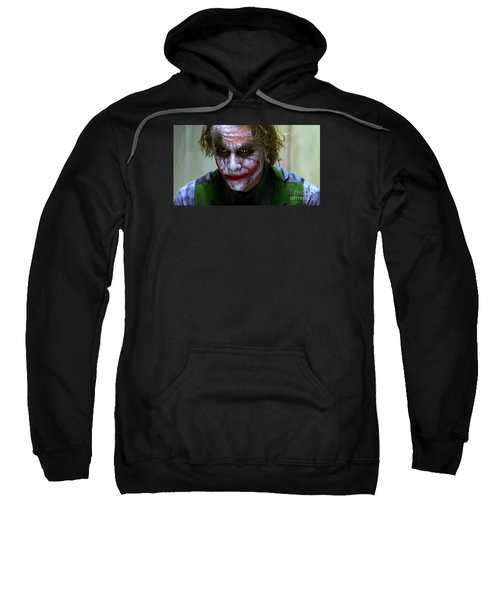 Why So Serious Sweatshirt by Paul Tagliamonte