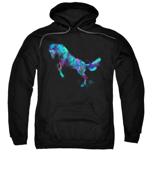 Wild Horses Couldn't Drag Me Away From You Sweatshirt by Nikki Marie Smith