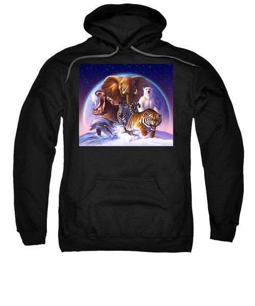 Wild World Sweatshirt by Jerry LoFaro