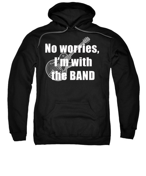 With The Band Tee Sweatshirt by Edward Fielding