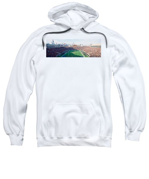 High Angle View Of Spectators Sweatshirt by Panoramic Images