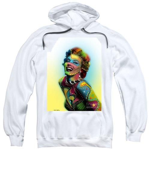 Marilyn Monroe Sweatshirt by Mark Ashkenazi