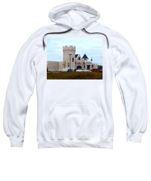 A Cheese Castle Sweatshirt by Kay Novy