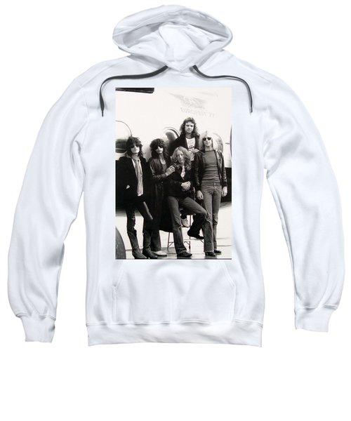 Aerosmith - Eurofest Jet 1977 Sweatshirt by Epic Rights