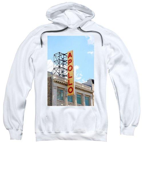 Apollo Theater Sign Sweatshirt by Valentino Visentini